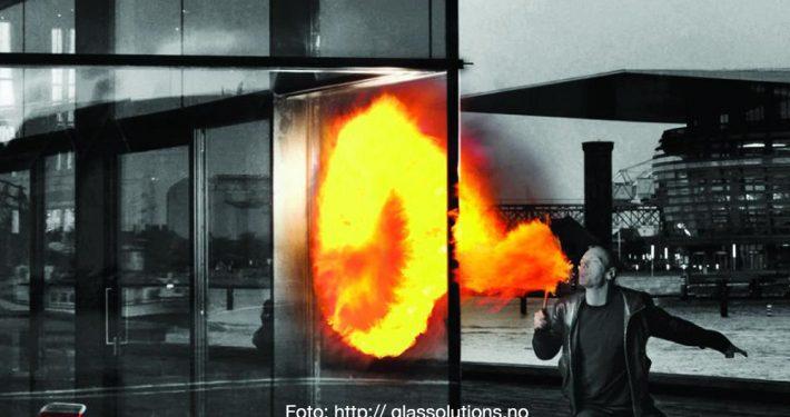 Glass med motstand mot brannsmitte. Foto: http://glassolutions.no