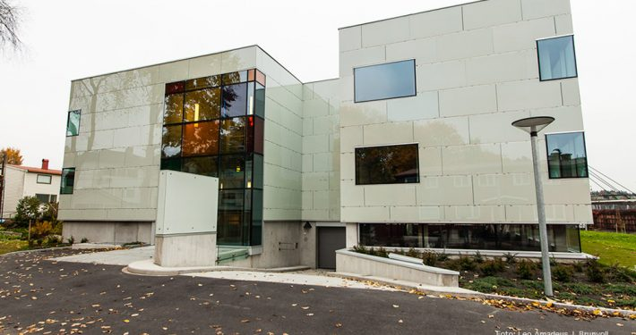 Wilberg Atrium. Foto Leo Amadeus J Brunvoll