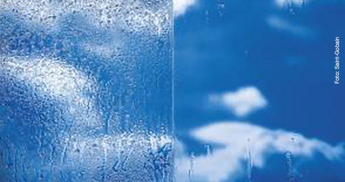 Glass som reduserer behovet for rengjøring. Foto: Saint-Gobain