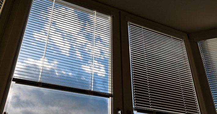Innvendig solskjerming. Foto: shutterstock