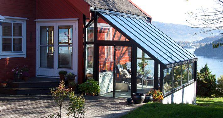Vinterhage. Holmedalshammeren. Foto: Sture Nepstad