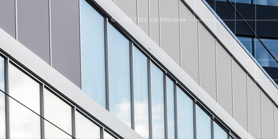 MediaCity Bergen fasade utvendig. Foto © Otto von Munchow