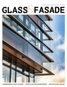 Magasinforside av Glass og fasade 0118.