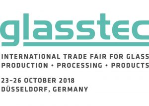 Glasstec 2018. Logo.