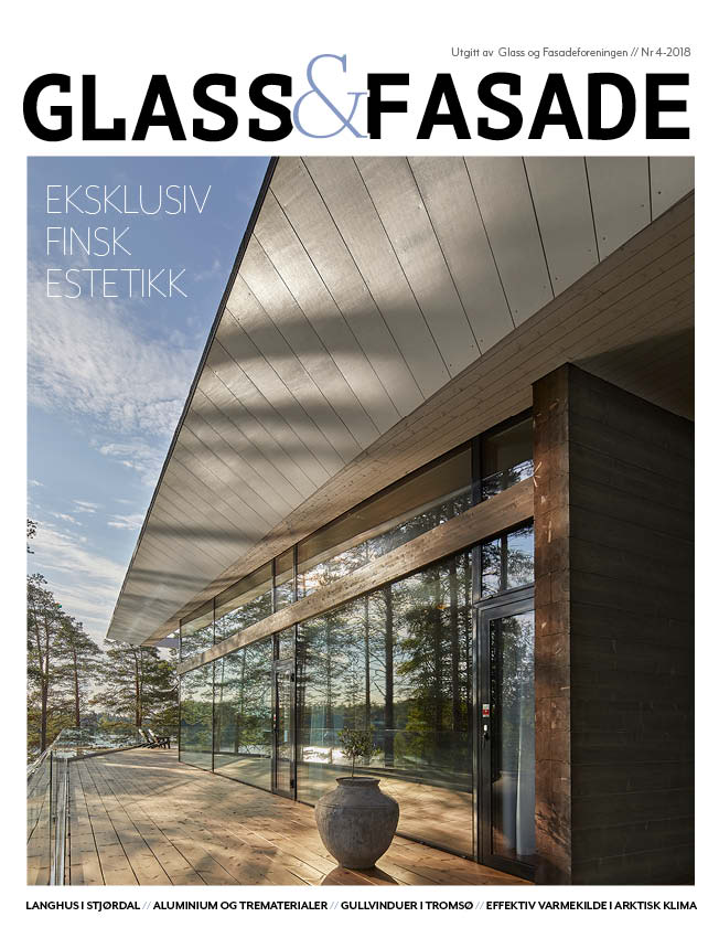 Cover Glass og Fasade utgave 4